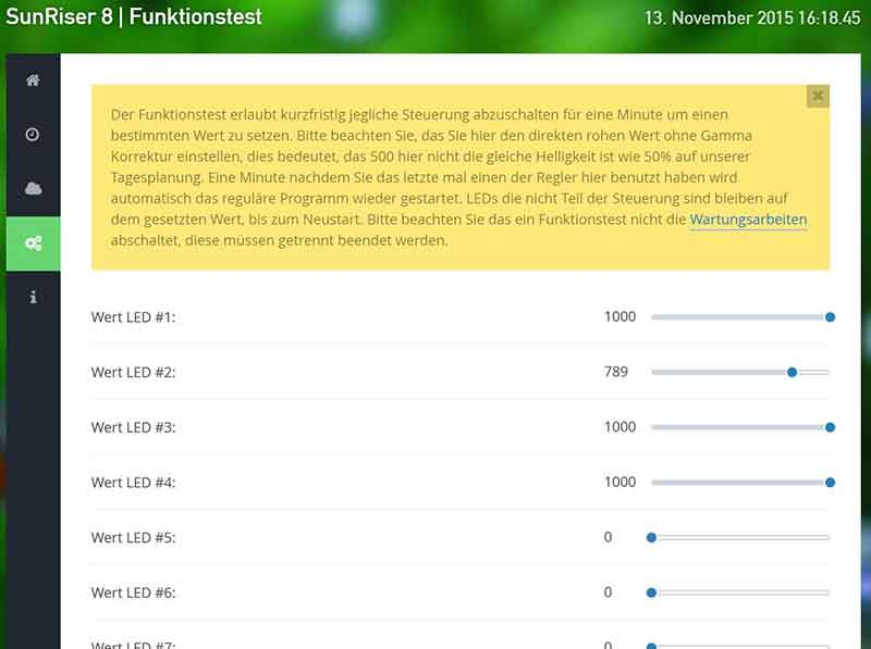 Funktionstest ..